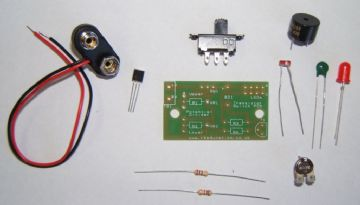 Transistor Switch Project with Thermistor, MPSA13 and LDR Self Build Kit
